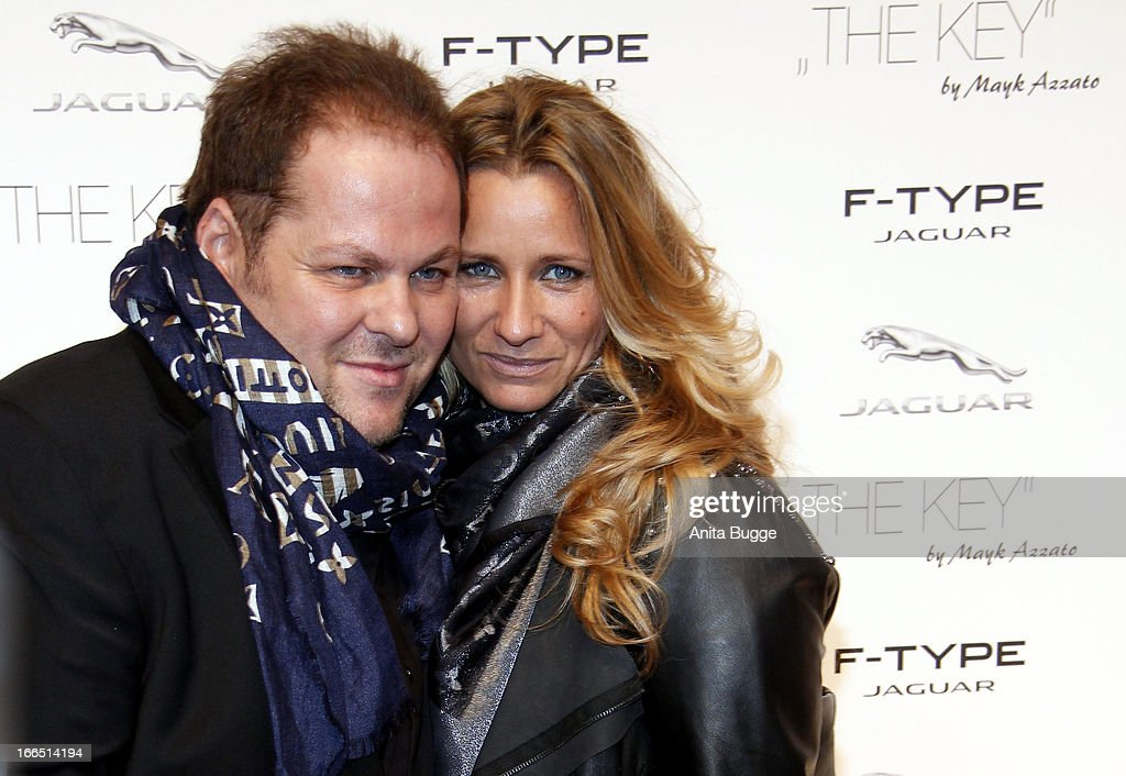 Director Mayk Azzato And His Wife Francesca Attend The Jaguar F Type  Commercial Short Movie
