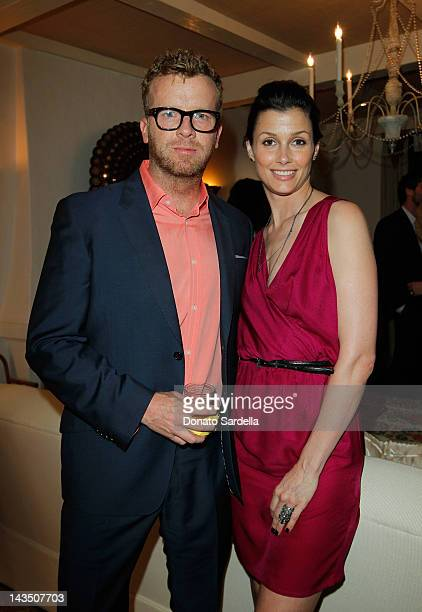 Director McG and actress Bridget Moynahan attend Lucky Magazine and Brandon Holley Host Dinner Party at Private Residence on April 27, 2012 in...