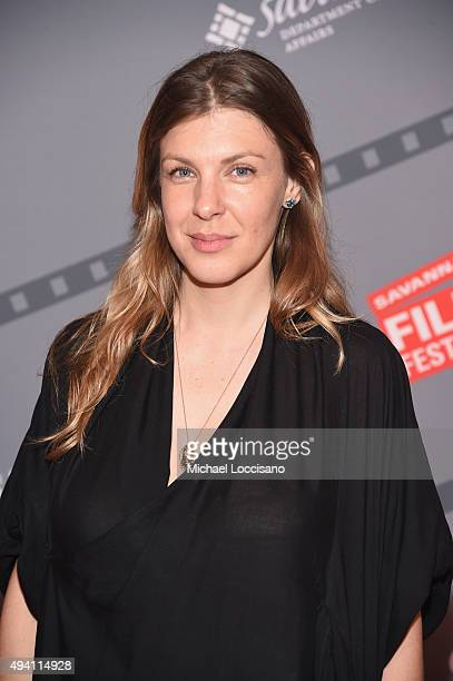 """Director Megan Delaney attends the opening night screening of """"Suffragette"""" during 18th Annual Savannah Film Festival Presented by SCAD at Trustees..."""