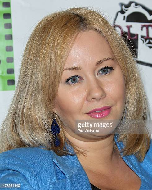 Director Megan Freels attends the premiere of 'Miles To Go' at Arena Cinema Hollywood on May 15 2015 in Hollywood California
