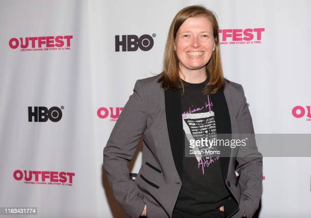 Director Megan Rossman attends the 2019 Outfest Los Angeles LGBTQ Film Festival screening of Archivettes at TCL Chinese 6 Theatres on July 21 2019 in...