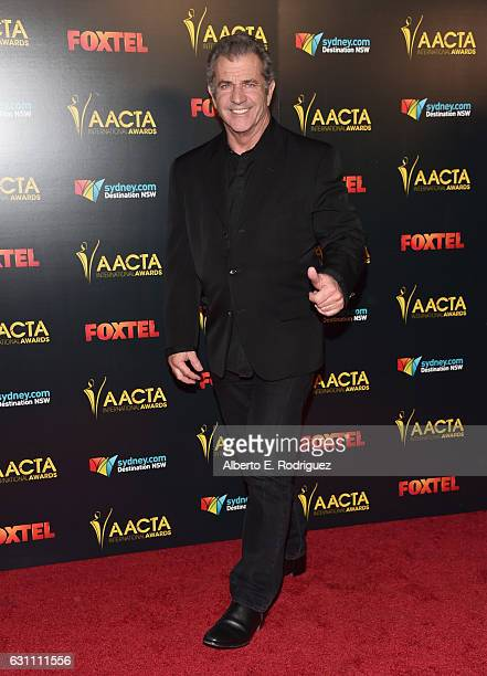Director Mel Gibson attends the 6th AACTA International Awards at Avalon Hollywood on January 6 2017 in Los Angeles California