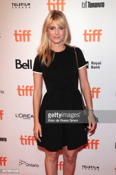 Director Melanie Laurent attends the 'Plonger' premiere during the 2017 Toronto International Film Festival at Winter Garden Theatre on September 15...