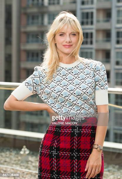Director Melanie Laurent poses during a photo session at the 2017 Toronto International Film Festival September 15 in Toronto Ontario