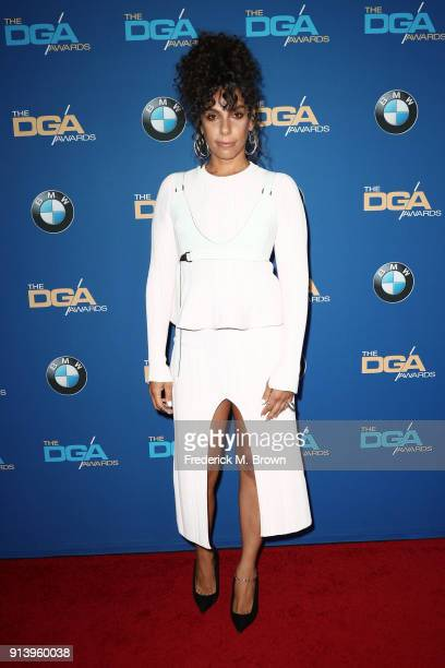 Director Melina Matsoukas attends the 70th Annual Directors Guild Of America Awards at The Beverly Hilton Hotel on February 3 2018 in Beverly Hills...
