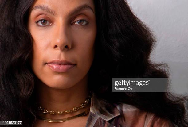 Director Melina Matsoukas is photographed for Los Angeles Times on October 11 2019 in Los Angeles California PUBLISHED IMAGE CREDIT MUST READ...