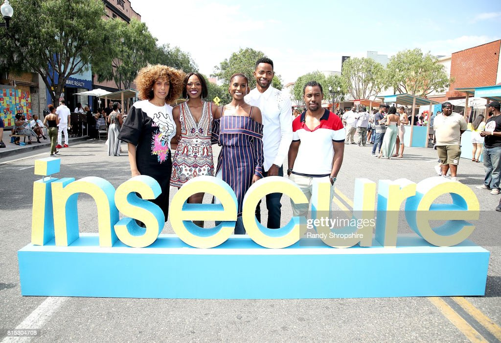 """HBO Celebrates New Season Of """"Insecure"""" With Block Party In Inglewood : Nachrichtenfoto"""