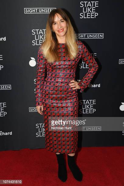 Director Meredith Danluck attends the 'State Like Sleep' New York Screening at Crosby Street Theater on December 19 2018 in New York City