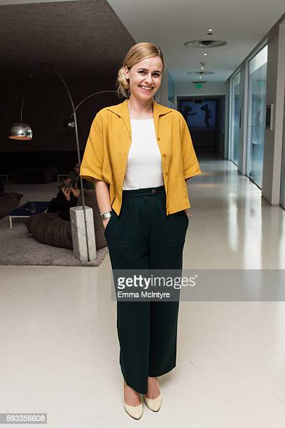 Director Mette MarieKatz attends the Women of Cinefamily weekend closing party at The Standard Hollywood on August 21 2016 in West Hollywood...