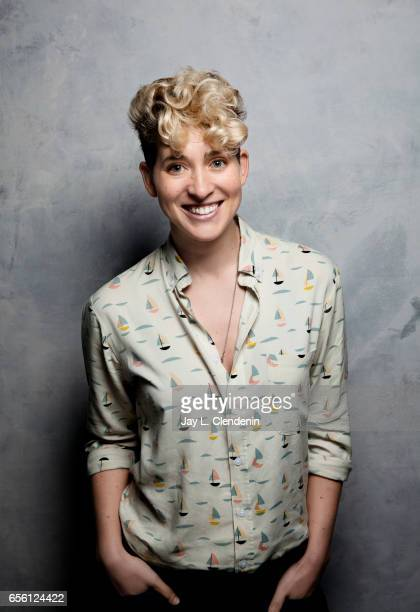 Director Mia Lidofsky from the television movie Strangers is photographed at the 2017 Sundance Film Festival for Los Angeles Times on January 23 2017...