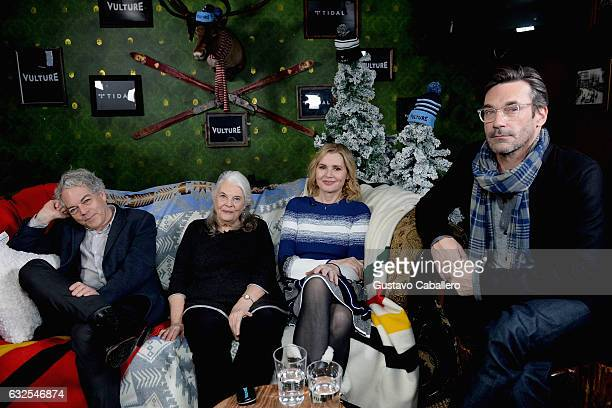 Director Michael AlmereydaLois SmithGeena Davis and Jon Hamm attends The Vulture Spot Presented By Tidal at Rock Reilly's on January 23 2017 in Park...