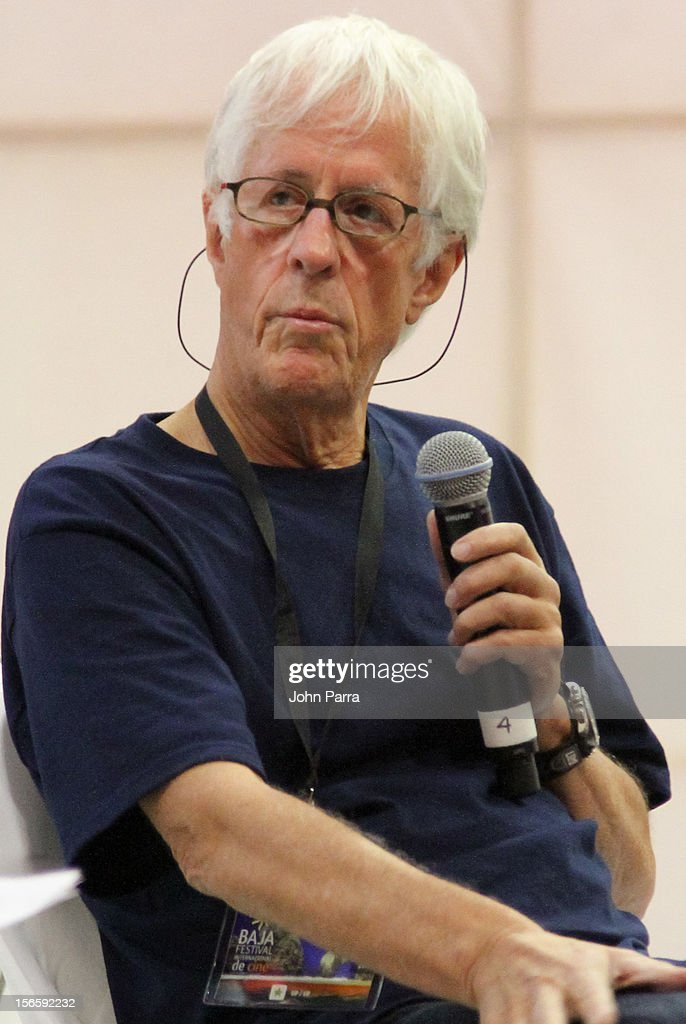 Director Michael Apted attends a press conference at Los Cabos Convention Center for the Baja International Film Festival on November 17, 2012 in Cabo San Lucas, Mexico.