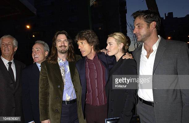 Director Michael Apted producer Lorne Michaels Dougray Scott producer Mick Jagger Kate Winslet and Jeremy Northam