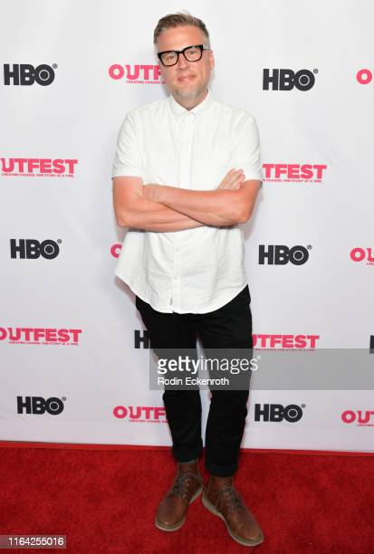 Director Michael Barnett attends the Outfest Los Angeles LGBTQ Film Festival screening of Changing the Game centerpiece documentary at TCL Chinese 6...