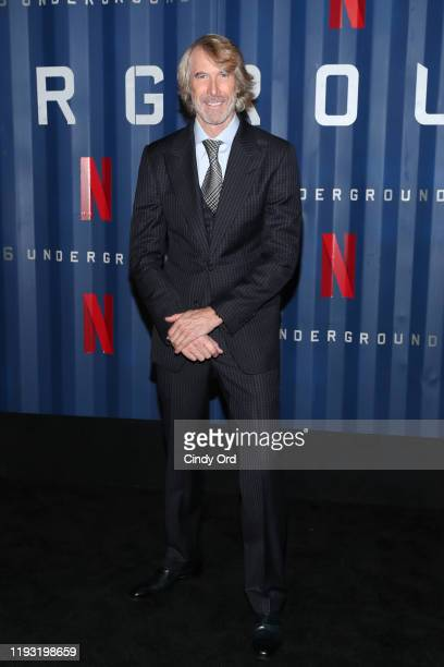 Director Michael Bay attends Netflix's 6 Underground New York Premiere at The Shed on December 10 2019 in New York City
