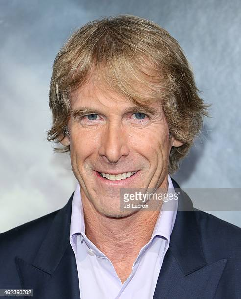 Director Michael Bay attends the Los Angeles premiere of 'Project Almanac' at TCL Chinese Theatre on January 27 2015 in Hollywood California
