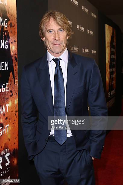 Director Michael Bay attends the Miami Fan Screening of the Pramount Pictures film '13 Hours' at the AMC Aventura on January 7 2016 in Miami Florida