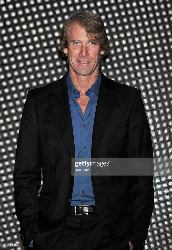 Director Michael Bay attends the 'Transformers: Dark of the Moon' press conference at the St. Regis Hotel Osaka on July 16, 2011 in Osaka, Japan. The film will open on July 29 in Japan.