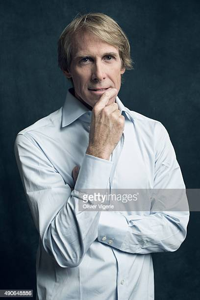 Director Michael Bay is photographed on September 10 2015 in Deauville France