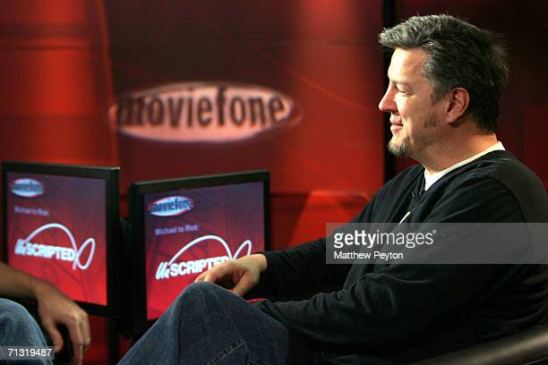Director Michael Cain appears on AOL Unscripted Session at the Meyer Gallery during the Sundance Film Festival on January 23 2006 in Park City Utah...