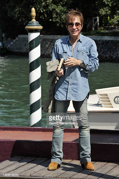 Director Michael Cimino arrives at the Hotel Excelsior during the 69th Venice International Film Festival on August 29 2012 in Venice Italy