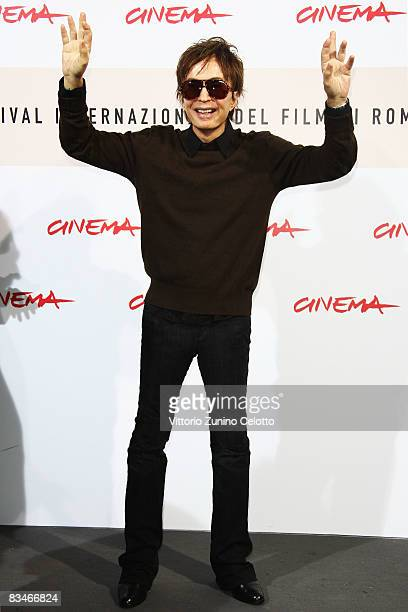 Director Michael Cimino attends the tribute To Michael Cimino during the 3rd Rome International Film Festival held at the Auditorium Parco della...