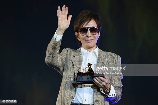 Director Michael Cimino receives the Pardo D'Onore Swisscom on August 9 2015 in Locarno Switzerland