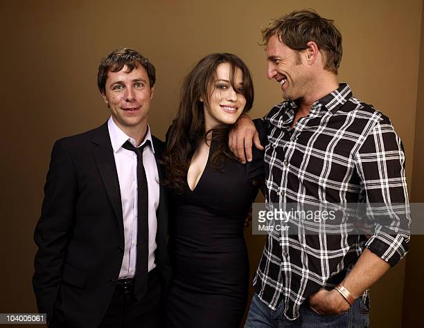 Director Michael Goldbach actress Kat Dennings and actor Josh Lucas from Daydream Nation pose for a portrait during the 2010 Toronto International...
