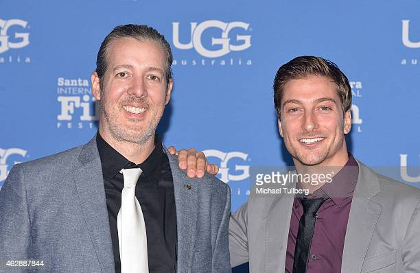 Director Michael Goode and actor Daniel Lissing attend the Outstanding Performer of the Year ceremony at the 30th Santa Barbara International Film...