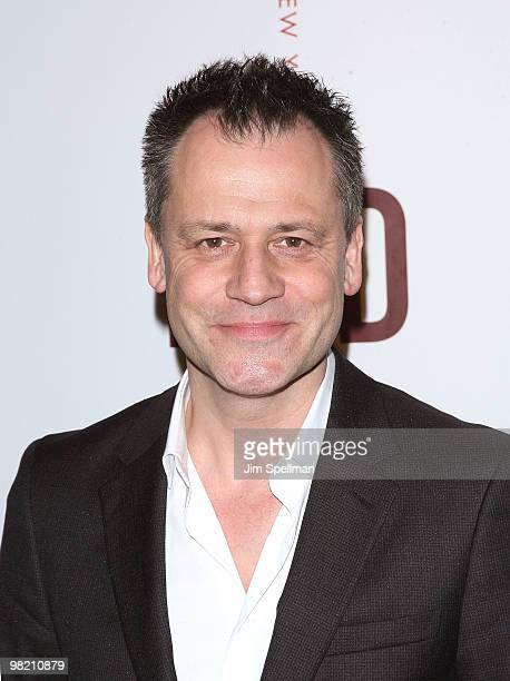 Director Michael Grandage attends the opening night party for RED on Broadway at Gotham Hall on April 1 2010 in New York City