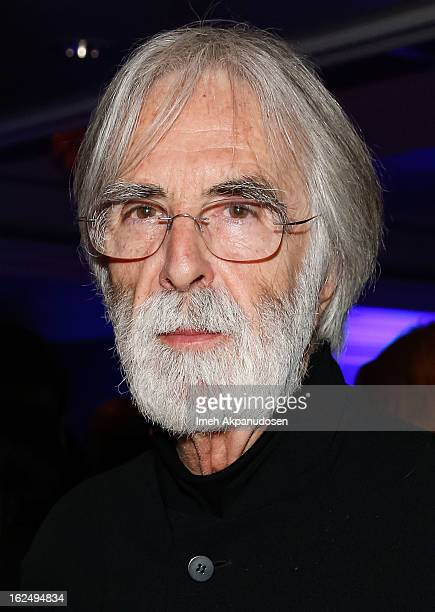 Director Michael Haneke attends the Sony Pictures Classics PreOscar Dinner at The London Hotel on February 23 2013 in West Hollywood California