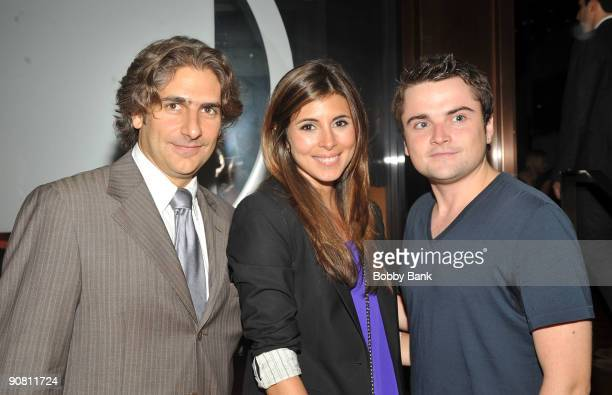 Director Michael Imperioli JamieLynn Sigler and Robert Iler attends The Hungry Ghosts benefit screening at the Rubin Museum of Art on September 15...