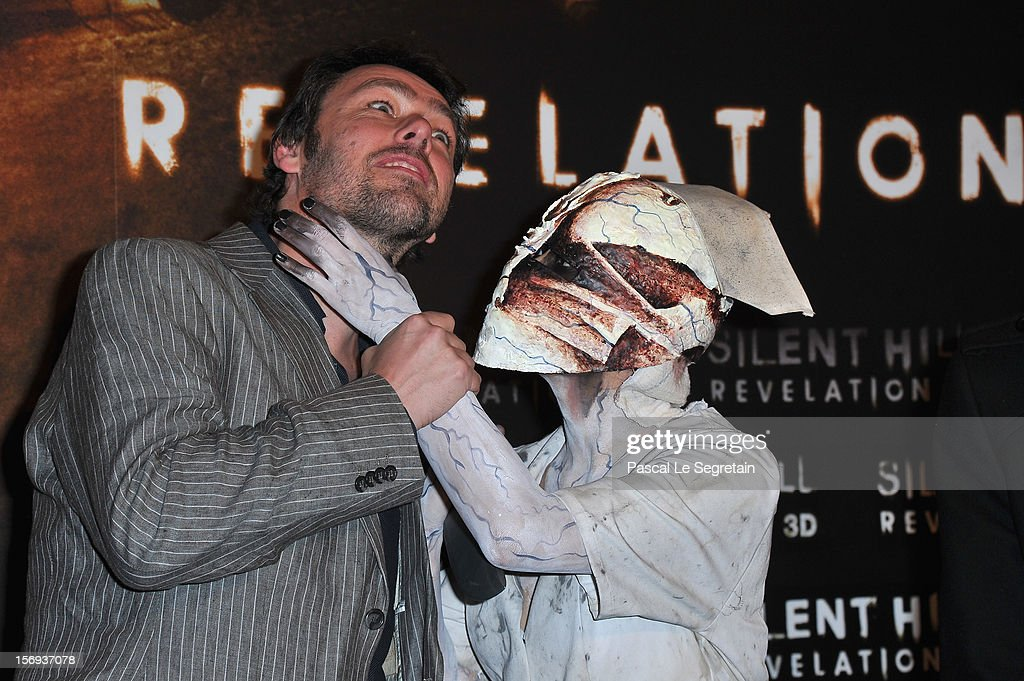 Director Michael J. Bassett attends the Paris Premiere for the film 'Silent Hill Revelation 3D' at Gaumont Capucines on November 25, 2012 in Paris, France.