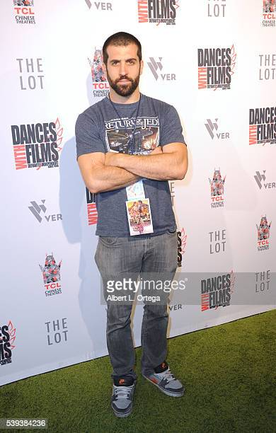 Director Michael Lynch arrives for the 19th Annual Dances With Films Festival Premiere Of 'The Babymoon' held at TCL Chinese 6 Theatre on June 10...