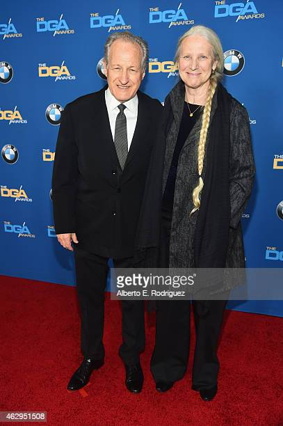 Director Michael Mann and Summer Mann attend the 67th Annual Directors Guild Of America Awards at the Hyatt Regency Century Plaza on February 7 2015...