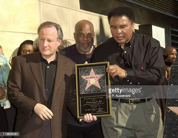 Director Michael Mann Howard Bingham and Muhammad Ali