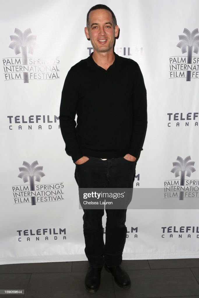 Director Michael McGowan arrives at the Canadian film party at the 24th annual Palm Springs International Film Festival on January 6, 2013 in Palm Springs, California.