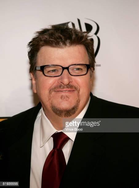 Director Michael Moore arrives at the 10th Annual Critics' Choice Awards at the Wiltern Theater on January 10 2005 in Los Angeles California