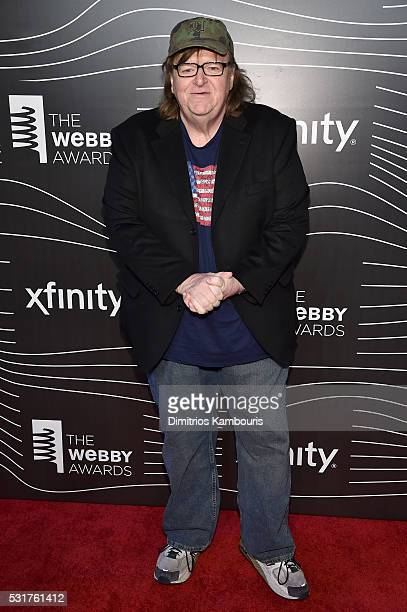 Director Michael Moore attends the 20th Annual Webby Awards at Cipriani Wall Street on May 16 2016 in New York City