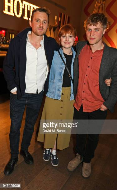 Director Michael Pearce Jessie Buckley and Johnny Flynn attend a special preview screening of 'Beast' at the Ham Yard Hotel on April 16 2018 in...