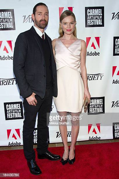 Director Michael Polish and actress Kate Bosworth attend the 5th Annual Carmel Art Film Festival at Sunset Cultural Arts Center on October 13 2013 in...