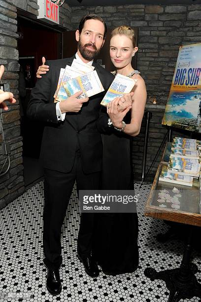 Director Michael Polish and actress Kate Bosworth attend the 'Big Sur' premiere after party at Hotel Chantelle on October 28 2013 in New York City
