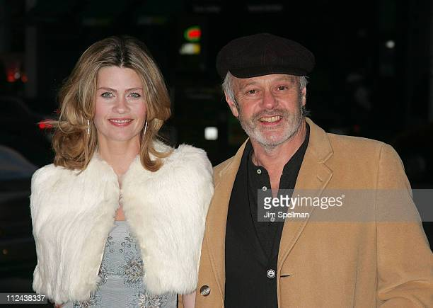 """Director Michael Radford with Emma Tweed arrive at The Cinema Society and Piaget Host a Screening of """"Flawless"""" at the Tribeca Grand Hotel on March..."""