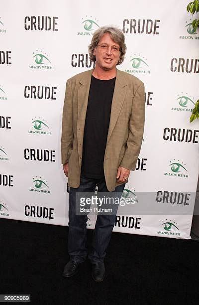 Director Michael Rymer arrives for the screening of the film 'CRUDE' at Harmony Gold Theatre on September 17 2009 in Los Angeles California