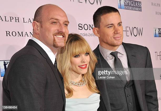 Director Michael Sucsy actors Channing Tatum and Rachel McAdams attend the premiere of Sony Pictures' The Vow at Grauman's Chinese Theatre on...