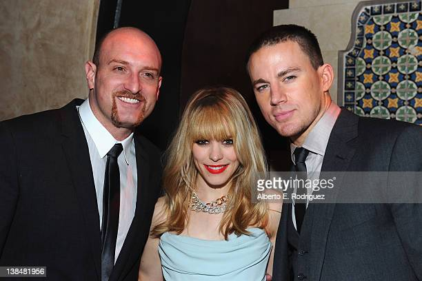 Director Michael Sucsy and actors Rachel McAdams and Channing Tatum attend the after party for the premiere of Sony Pictures' 'The Vow' at Grauman's...