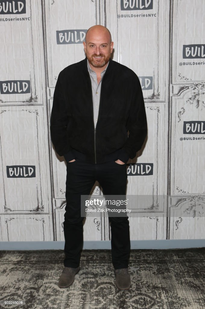Director Michael Sucsy attends Build Series to discuss 'Every Day' at Build Studio on February 21, 2018 in New York City.