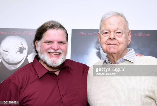 Director Michael Thomas Daniel and John Orland attend the premiere of Get Gone at Arena Cinelounge on January 24 2020 in Hollywood California