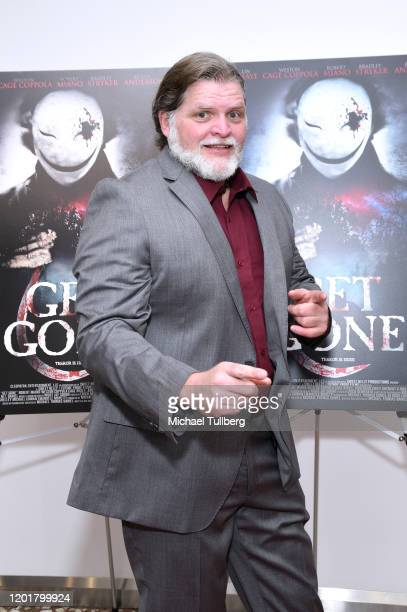 Director Michael Thomas Daniel attends the premiere of Get Gone at Arena Cinelounge on January 24 2020 in Hollywood California