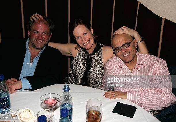 Director Michael Traeger actor Joe Pantoliano and his wife Nancy Sheppard attend the Night Of 1000 Stars during the Sarasota Film Festival at...